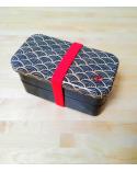 Bento box (Lunch box) seigaiha pequeña