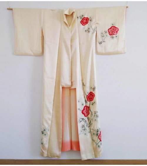 Vintage kimono 'Palaces and bridges'