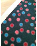 """Chiyogami """"Dots"""" en coral y turquesa"""