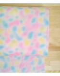 Tela japonesa. Nebulosa en colores pastel