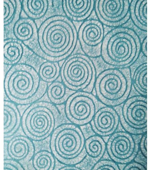 Japanese Tissue paper with spirals.
