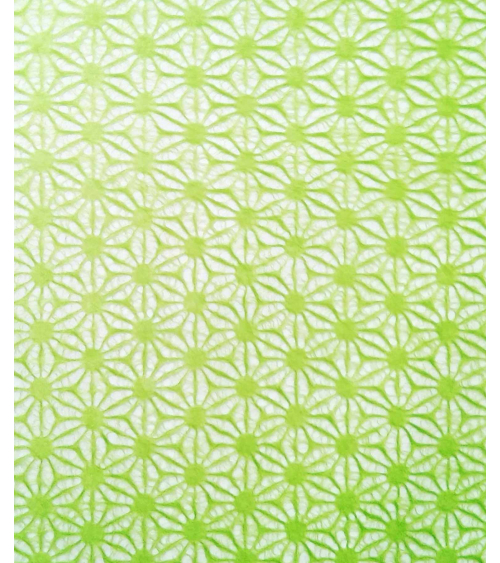 Japanese Tissue paper with seigaiha pattern.