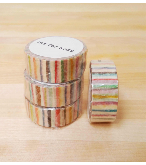 Washi tape (masking tape) Shima Shima