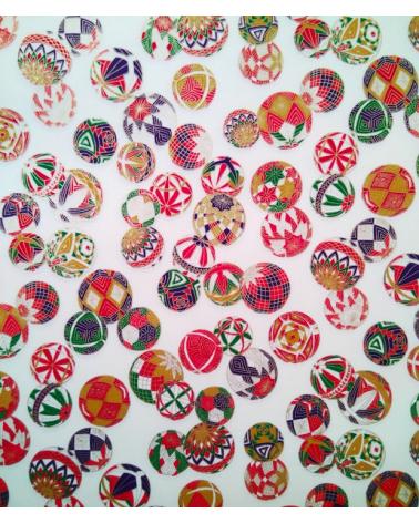 Papel japonés decorativo Temari