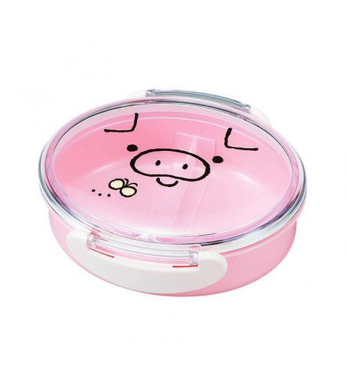 Bento box (Lunch box) cerdito rosa