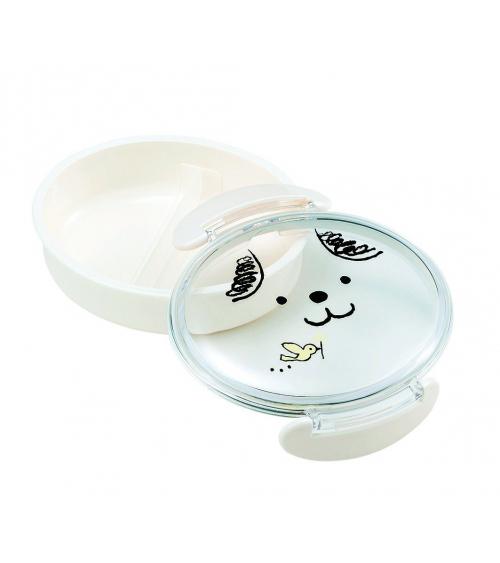 Bento box (Lunch box) perrito blanco