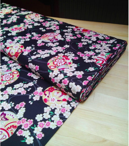 Tela de Sakura y temari sobre negro