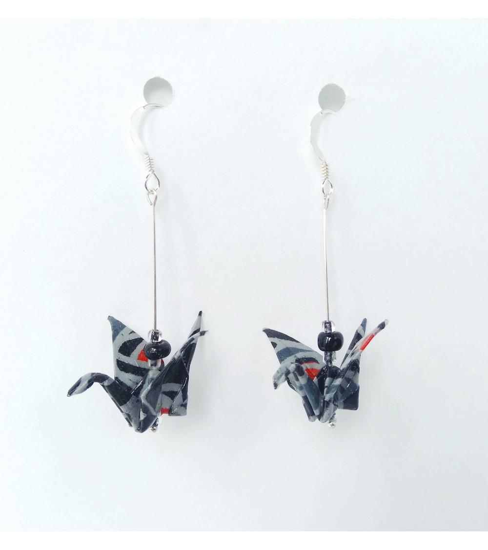Pale Pink Origami Cranes – Graceincrease Custom Origami Art   470x440