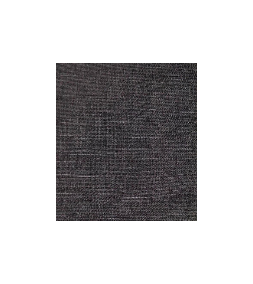 Tela tramada líneas gris antracita