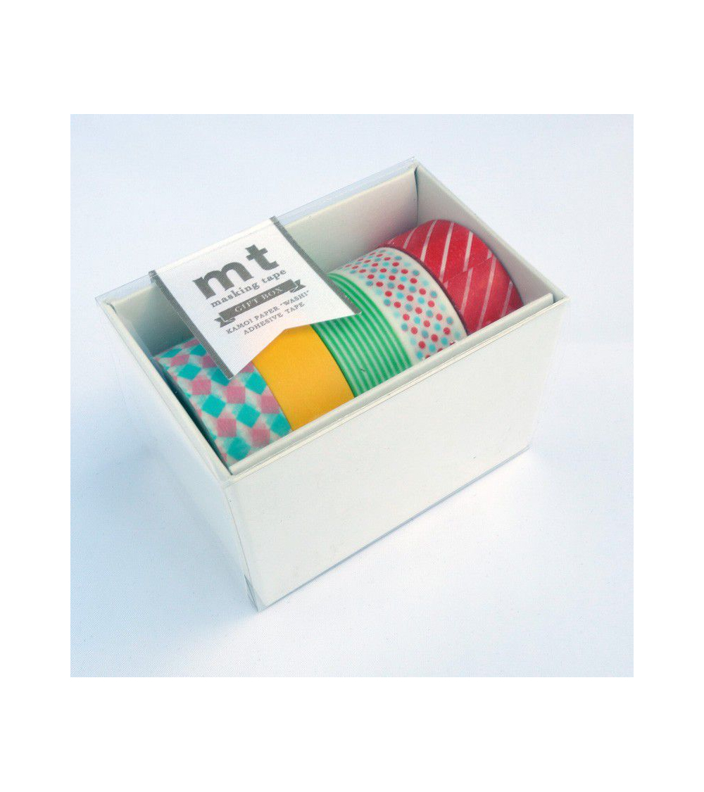Washi tape (masking tape) gift box POP
