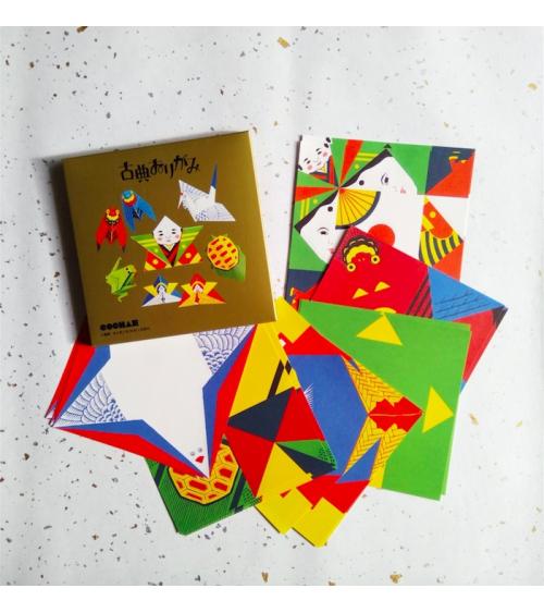"Kit origami ""Classic Origami"" COCHAE."