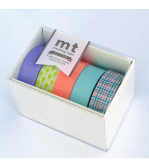 Washi tape (masking tape) box pastel