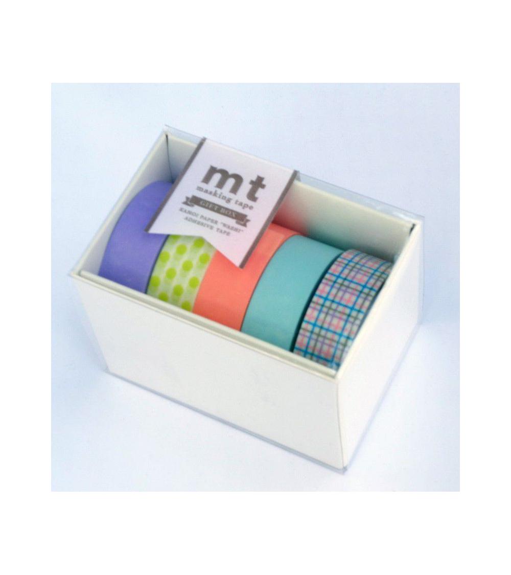 Washi tape (masking tape) box pastel