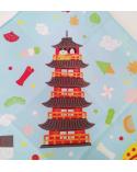 Furoshiki Kyoto (48 cm x 48 cm).