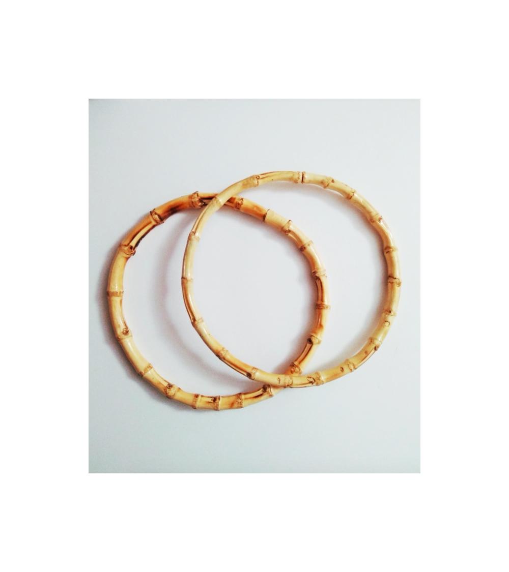 Asas de bambú 18cm circulares