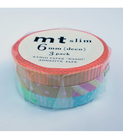 Washi tape (masking tape) slim deco E