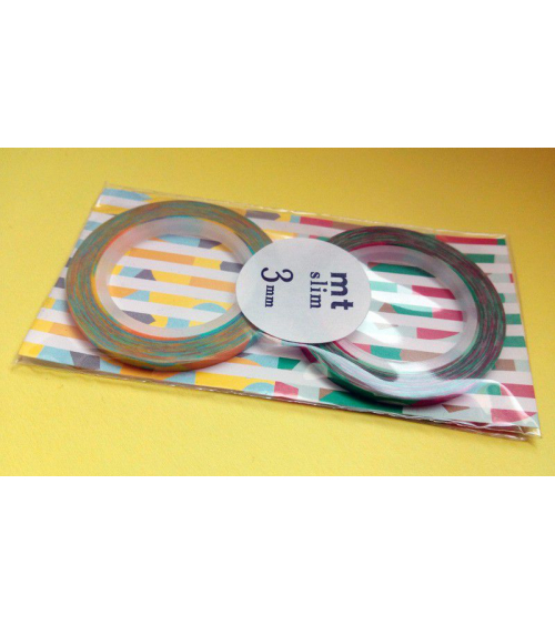 Washi tape (masking tape) slim 3mm E