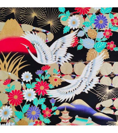Tela japonesa Paisaje japonés