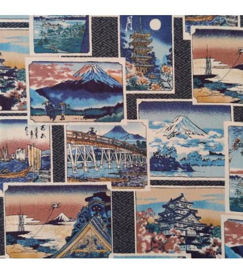 Tela Estampas de Japón