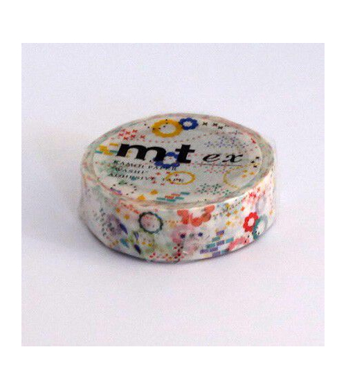 Washi tape (masking tape) ex colorful POP