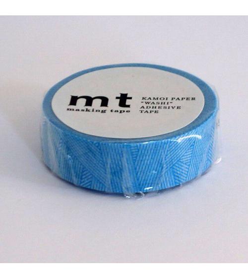 Washi tape (masking tape) messy cyan