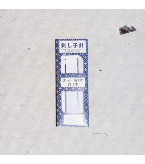 Agujas para sashiko (bordado japonés).
