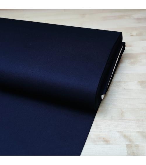Japanese cotton fabric in indigo blue