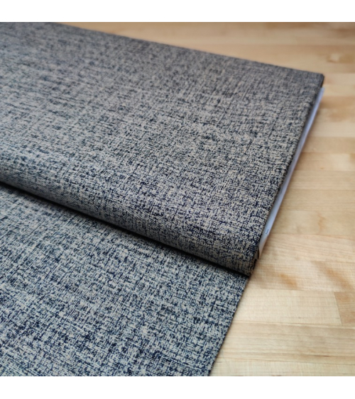 Japanese fabric Rustic Indigo. 'Speckled'