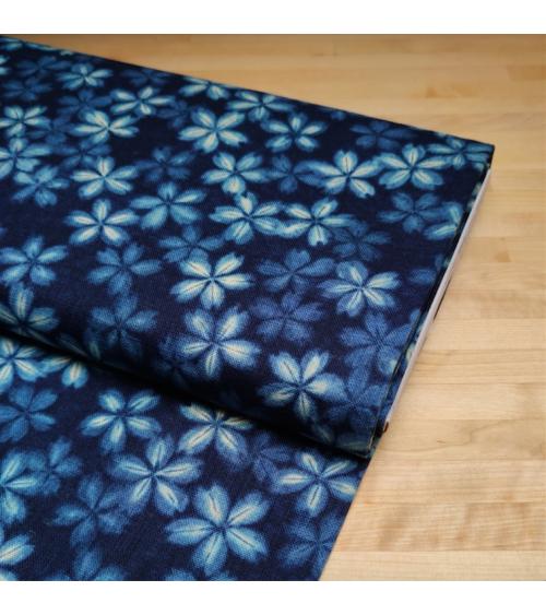 Japanese fabric Rustic feel. 'Sakura'