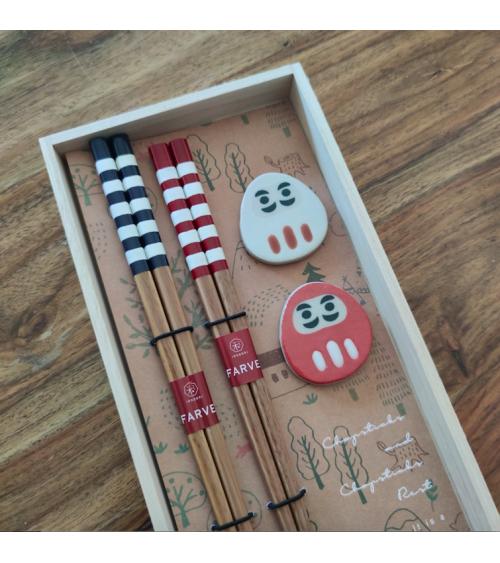 Set de regalo Palillos Daruma