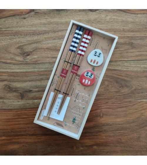Daruma chopsticks gift set