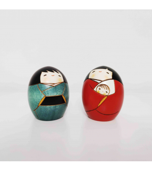 Nativity of creative kokeshi (medium)