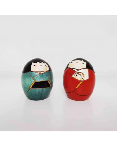 Nativity of creative kokeshi (medium)