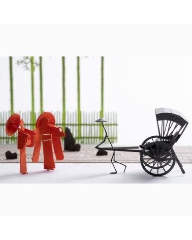 """1/100 architectural model """"Kyoto"""""""