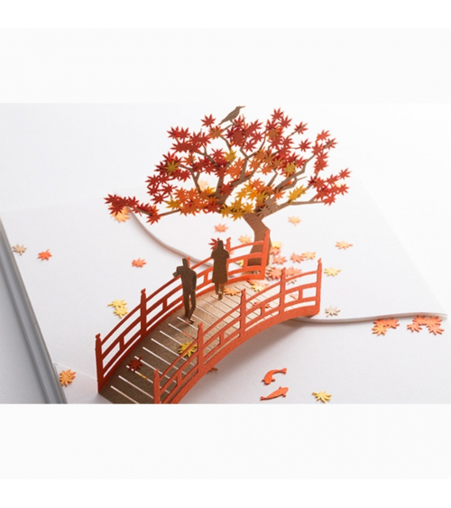 "1/100 architectural model ""Momiji"""