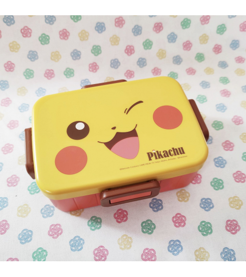 Kawaii Pokemon´s Pikachu  Bento box. 650ml.