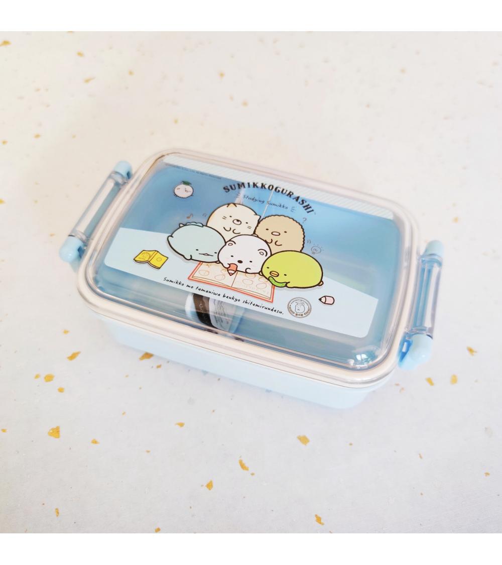 Bento box Sumikko Gurashi 450ml azul.