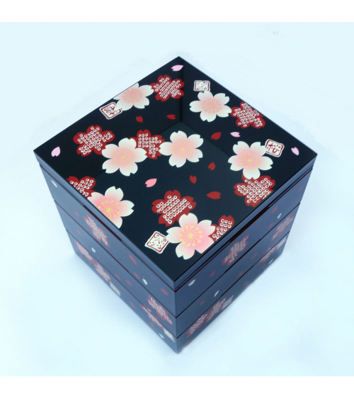 Bento box (Lunch box) shokado sakuras y shibori