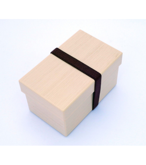 Bento box (Lunch box) efecto madera abedul
