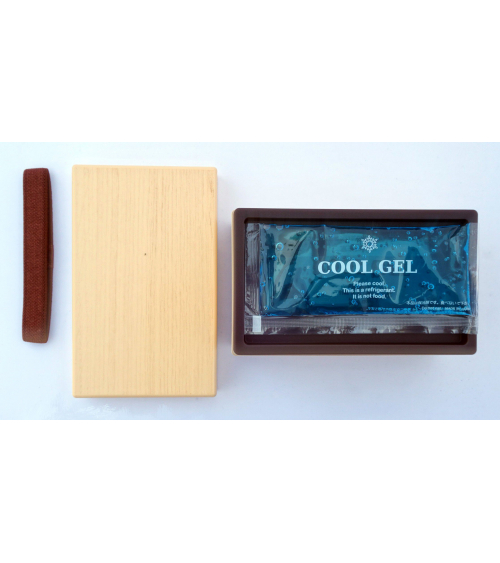 Bento box (Lunch box) efecto madera abedul