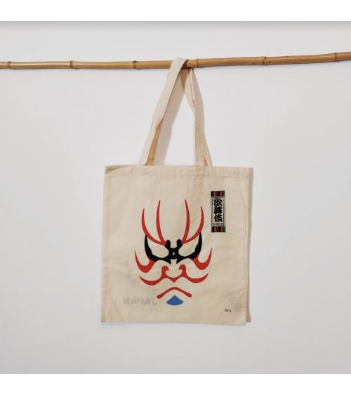 "Bolsa tote bag de algodón ""Kabuki"""