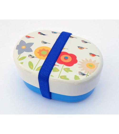 Bento box (Lunch box) kotoritachi pajaritos y flores