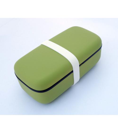 Bento box (Lunch box) basic verde