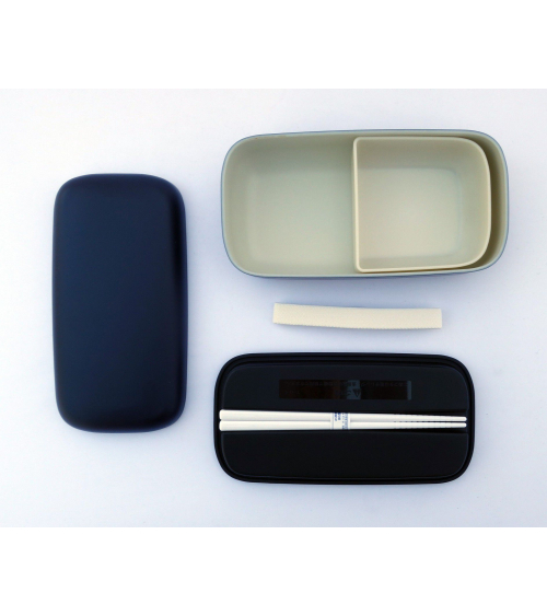 Bento box (Lunch box) basic negra