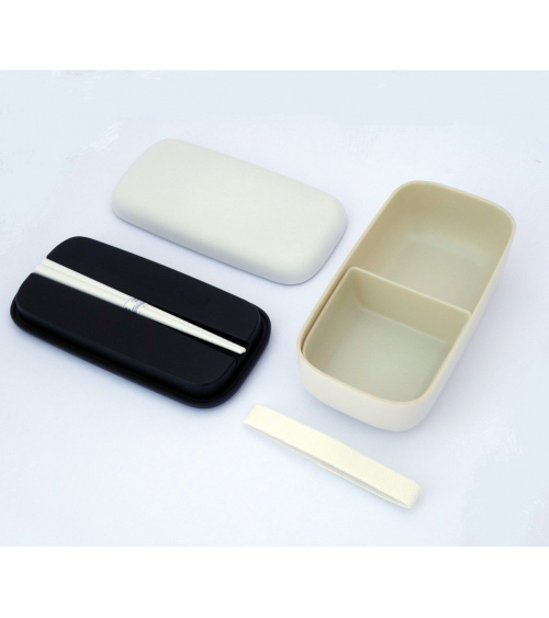 Bento box (Lunch box) basic blanca