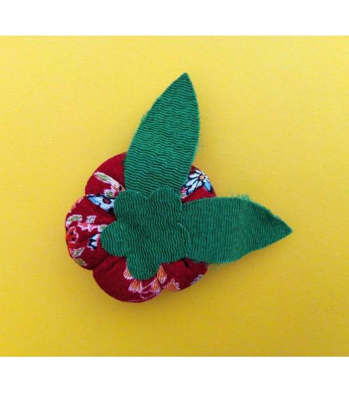 Broche japonés ume roja