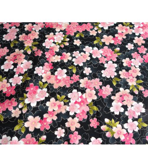 Tela ligera de sakuras (flores de cerezo)