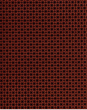 Papel Chiyogami motivo gráfico sobre fondo rojo.