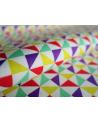 Tela japonesa. Shuriken multicolor