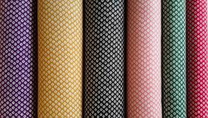 Motivos gráficos japoneses: shibori kanoko.